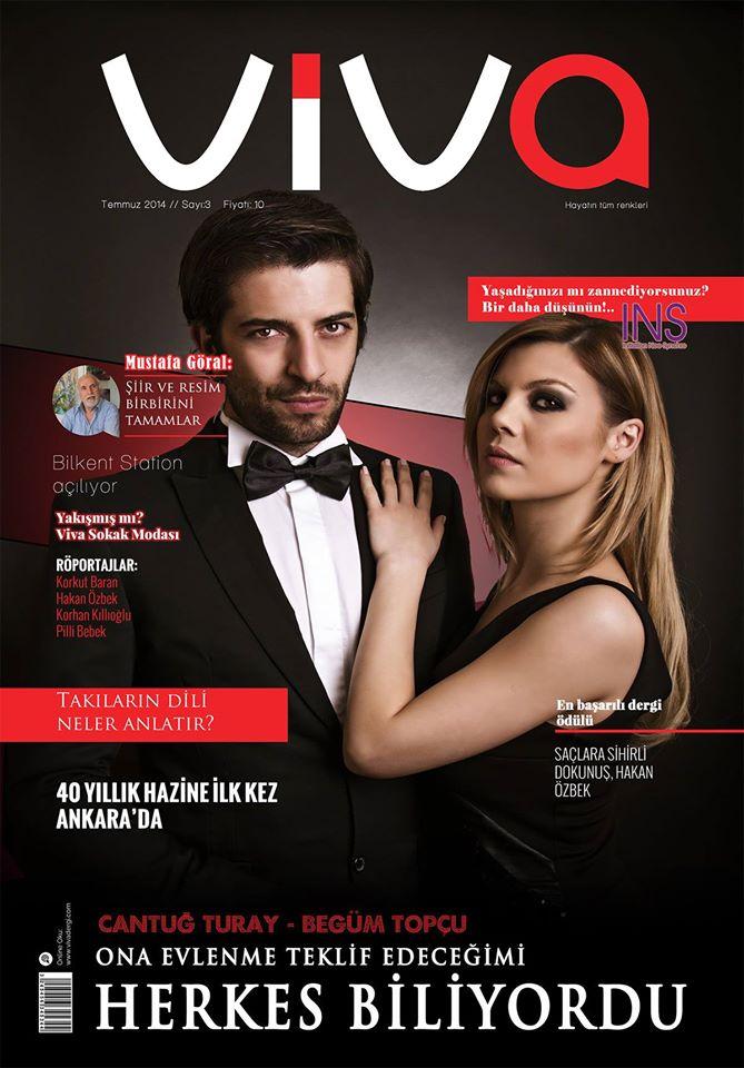 Viva Dergisi Temmuz Kapagi by utkudemirsoyofficial