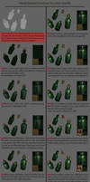 Hand Painted Texturing Tutorial, Wine Bottle