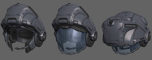 BlizzFest Contest Wip - Medic Armor, Helmet