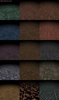 Bitgem Textures Vol.1-3