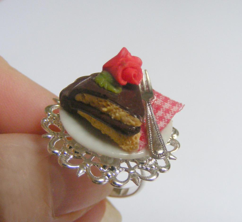 Chocolate Cake Slice Squishy