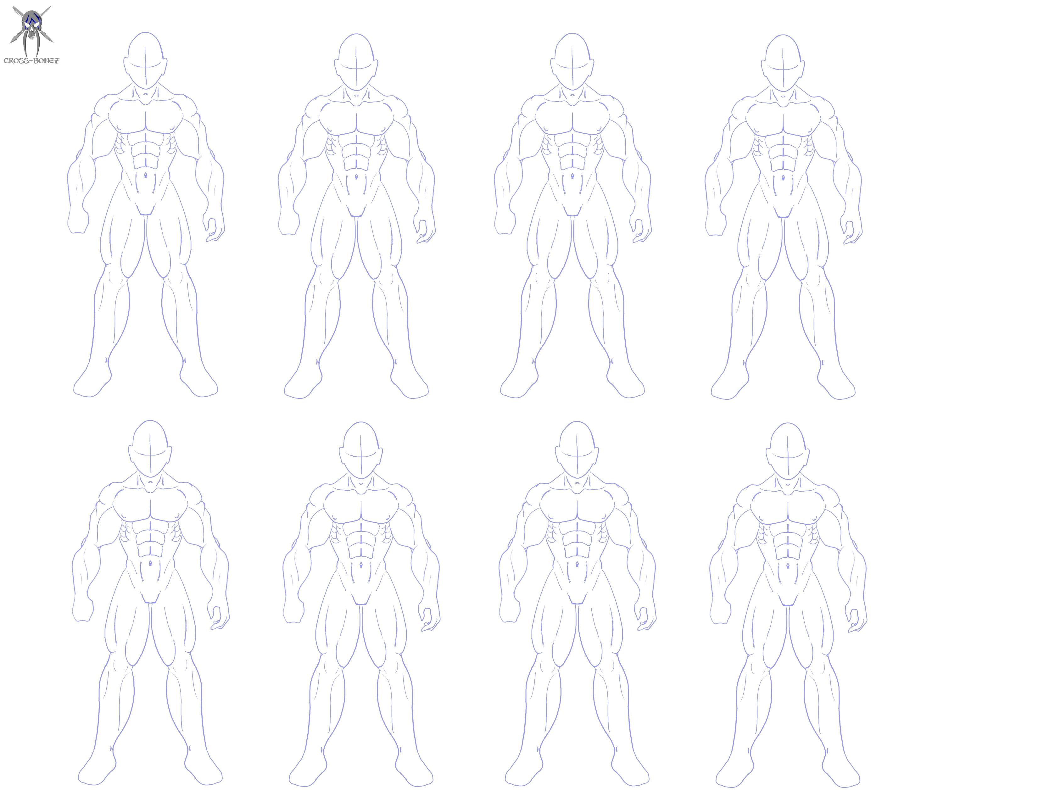 Male body buff by cross-bonez on DeviantArt