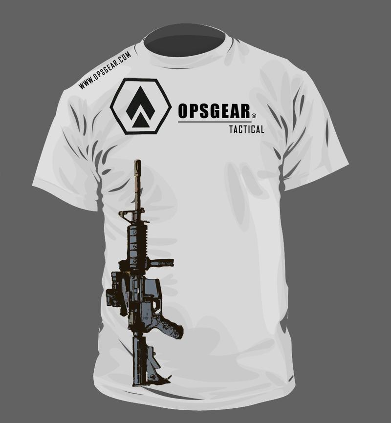 Opsgear T Shirt Design By Normandy On Deviantart
