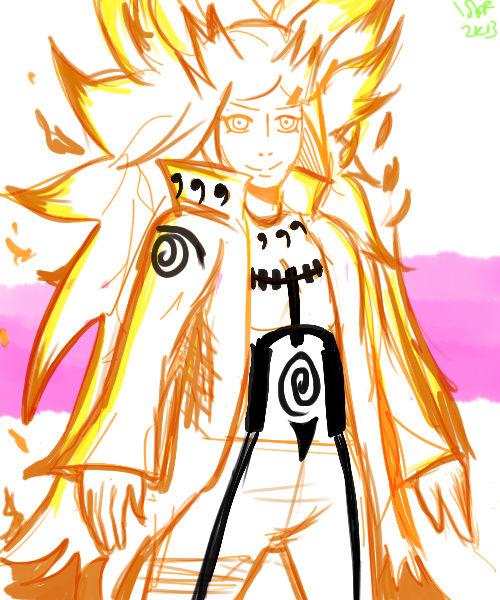 Kushina: Kyuubi mode?! by sofomofo on DeviantArt