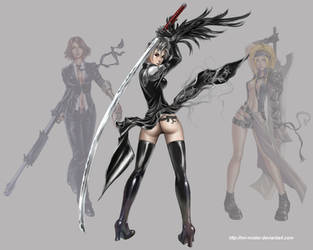 FFX-2 Paine One Winged Angel by mr-mister