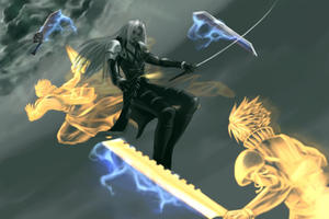 Sephiroth Biatch Pleez by mr-mister