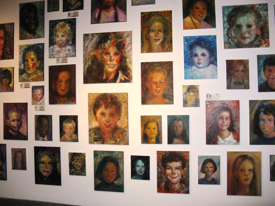 Missing Children, central wall by johnpaulthornton