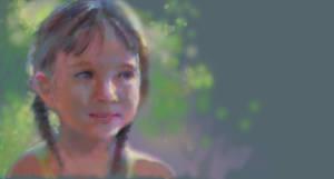 Muro 2 -my daughter by johnpaulthornton