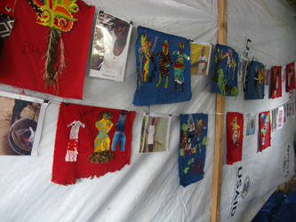 Tent exhibition: Haiti by johnpaulthornton