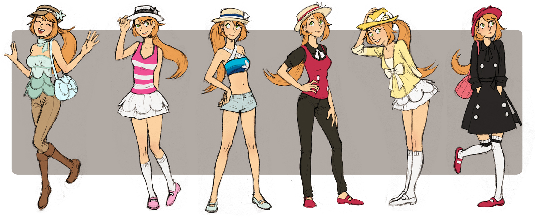 pokemon trainer xy deviantart