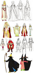 Final Fantasy - White Mage concept by french-teapot