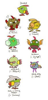 Pokemon Variation - Natu