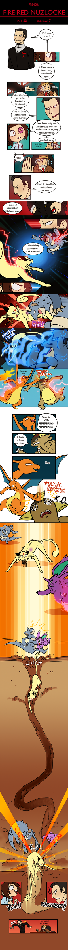 Fire Red Nuzlocke 30 by french-teapot