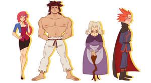 Elite Four Designs