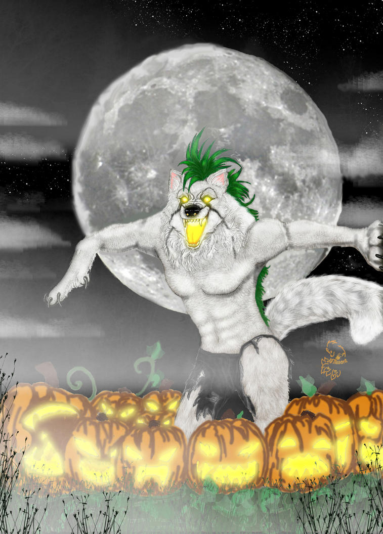 All Hells Halloween finished by Featherd9TailsWolf