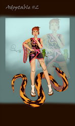 Adopt #2 [Open] - Snake lady
