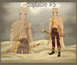 (Open) Adopt #5/ Desert Prince