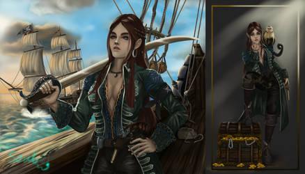 (Closed) Adoptable #18 / Captain Selina Seaspray