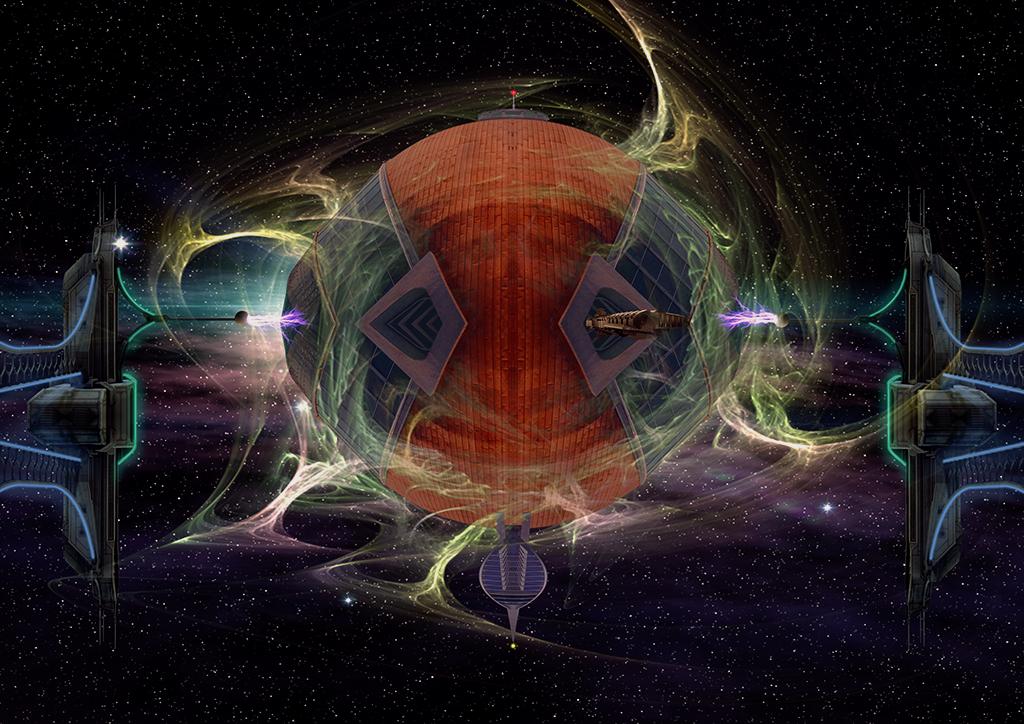 Galaxy Voyager by IZSTEVE