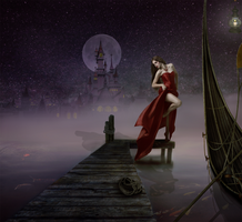 Moon Lite Dancing by IZSTEVE