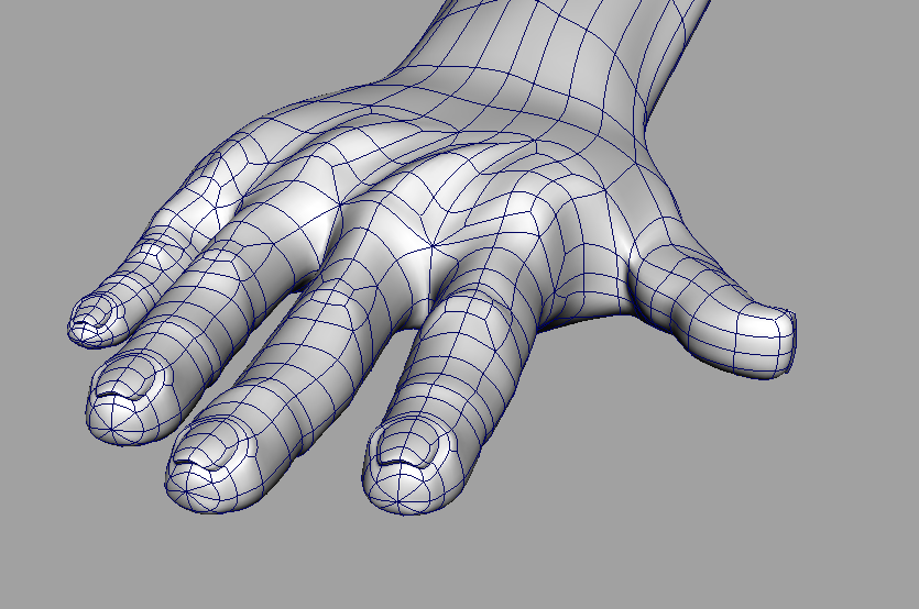 3d Hand Wireframe By Red Paragon On Deviantart