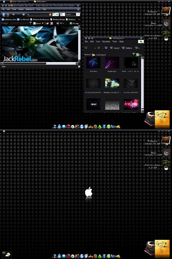Black Mac by rebstile