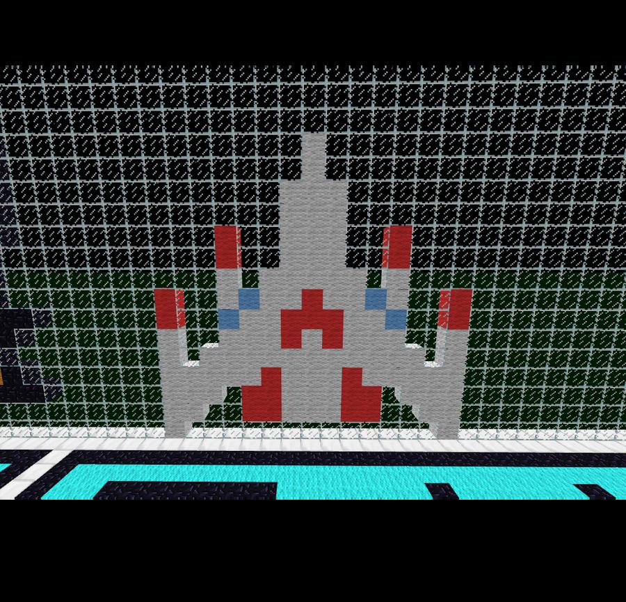 Minecraft Rocketship By LascifRisu On DeviantArt