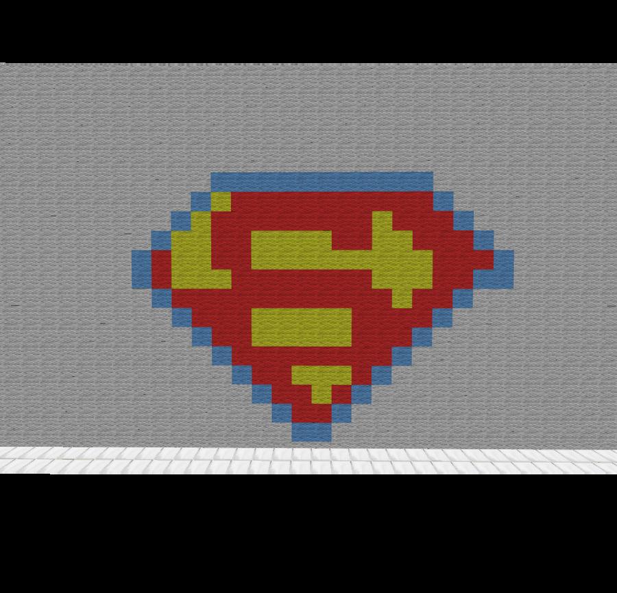 Superman Logo Minecraft