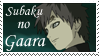 Gaara Stamp by Ariel-D