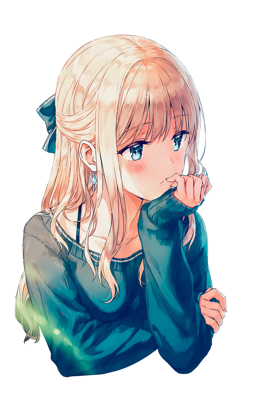 Anime Girl (Render) by SkarletRose03 on DeviantArt
