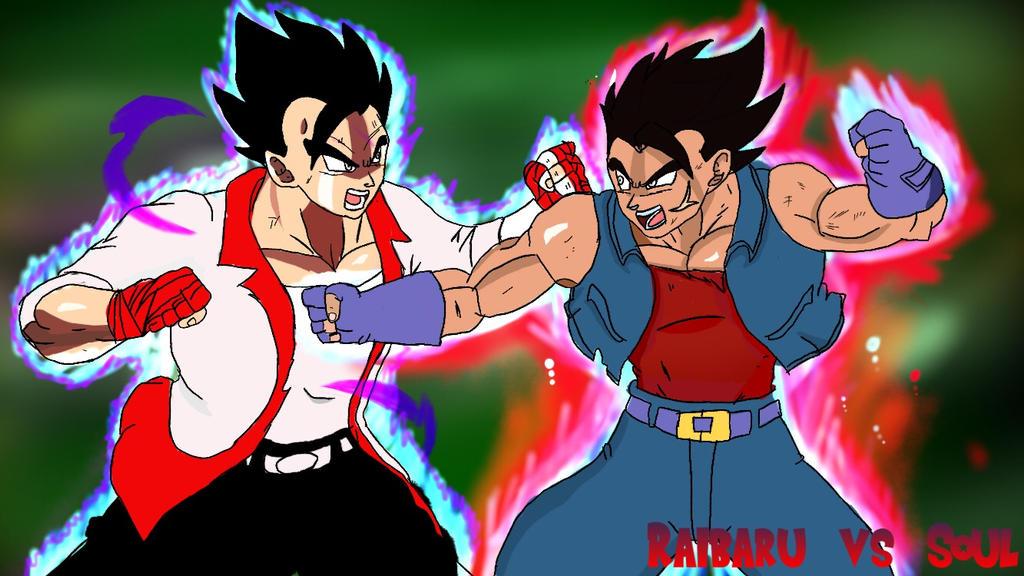 Soul vs Raibaru  by Rodthegamer34