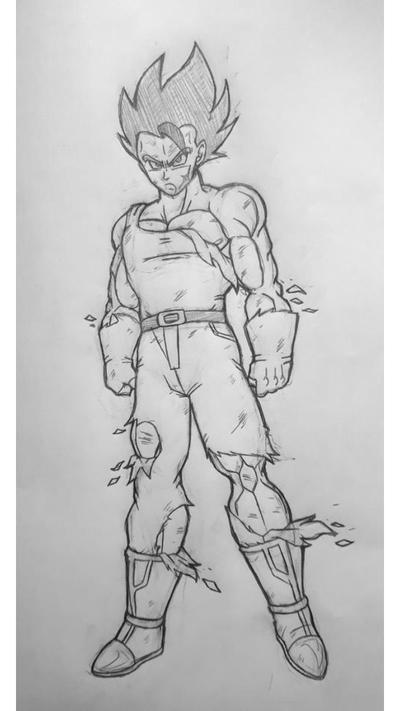 Ex limit break Raibaru original sketch  by Rodthegamer34