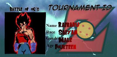 Raibarus tournament iD  by Rodthegamer34