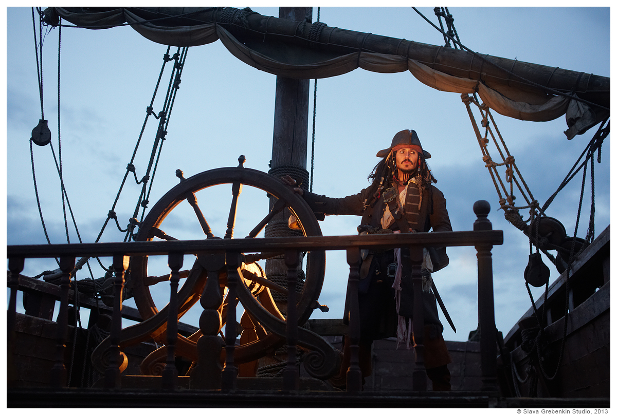 Captain Jack Sparrow by Slava-Grebenkin