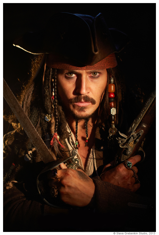 Cosplay - Captain Jack Sparrow by Slava-Grebenkin