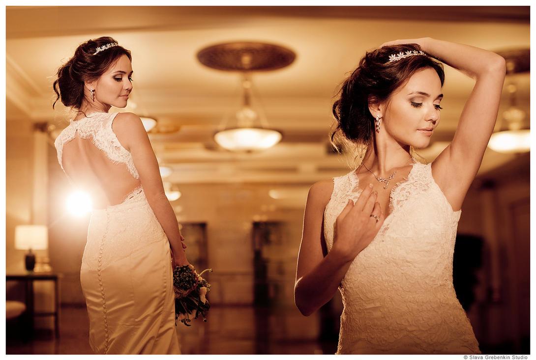Bride Olga =) by Slava-Grebenkin