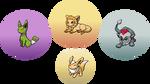 Eeveelutions (Updated)