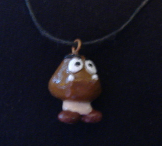 Goomba Necklace by TheSciFiArtisan