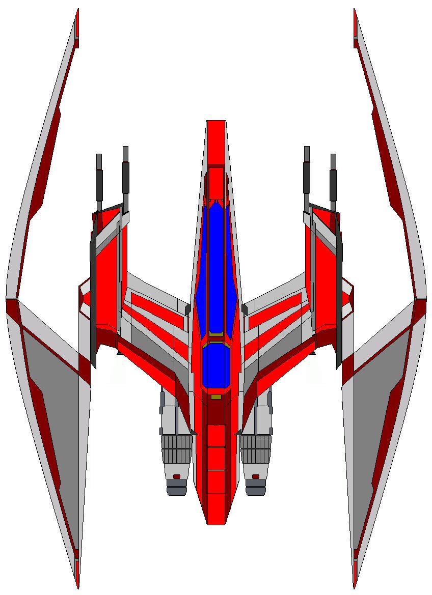 Arc Heavy Jedi Fighter by JediArtisan