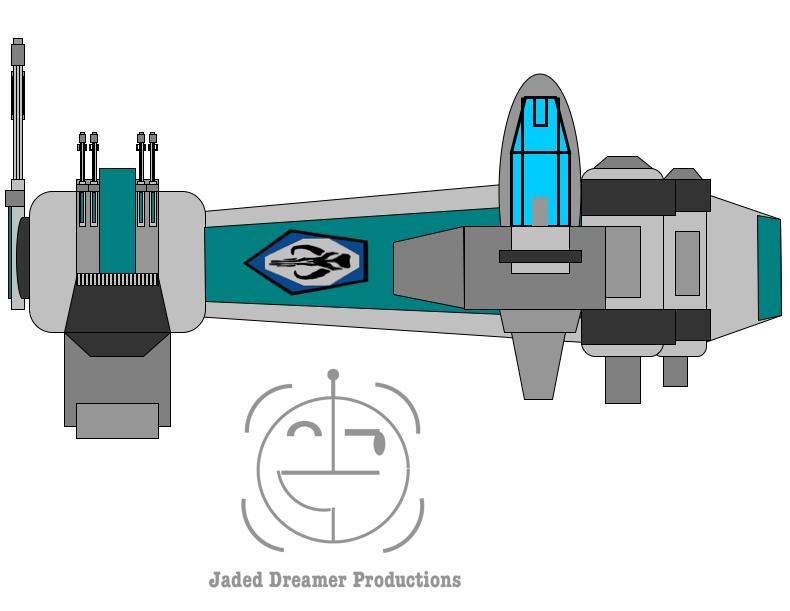 Mandalorian Bomber by JediArtisan