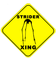 Strider xing by TheSciFiArtisan