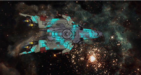 FTL Ship 4 by TheSciFiArtisan