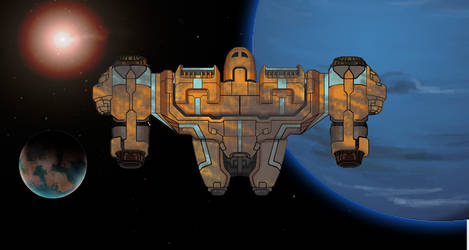 FTL Ship 5 by TheSciFiArtisan