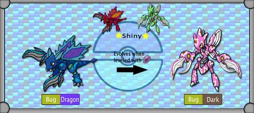 New Region Pokemon - Scyther - Scizor by TheSciFiArtisan