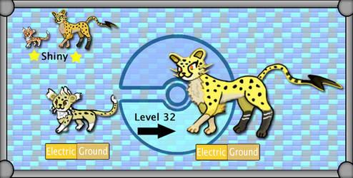 New Region Pokemon - Cheetase by TheSciFiArtisan