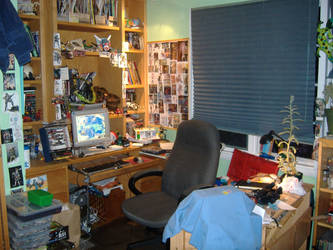 Where I am working Now by TheSciFiArtisan