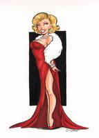 Marilyn by dsoloud