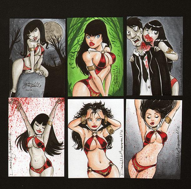 Vampirella 2012 by dsoloud