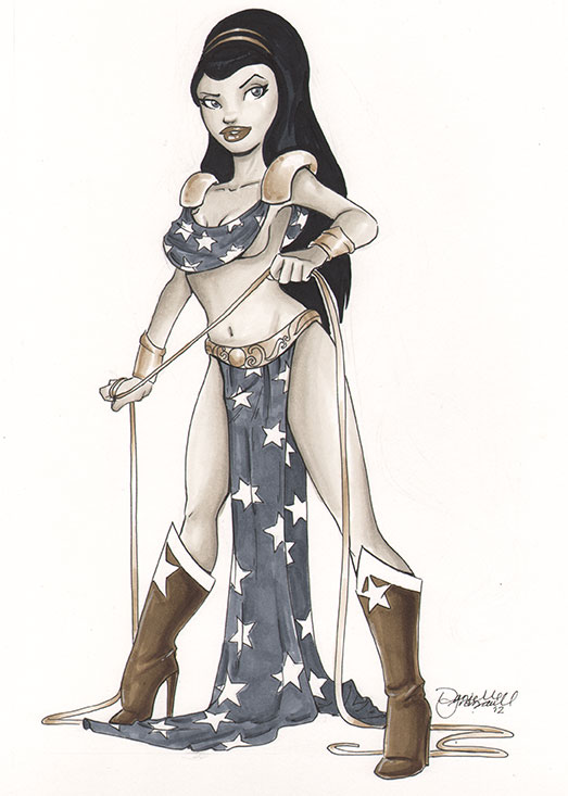 Greek Casual Wonder Woman by dsoloud