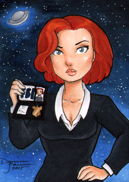 Agent Scully by dsoloud